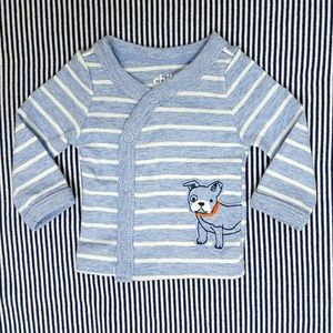 ° SZ PREEMIE • NWOT • Long Sleeved Button-Up °